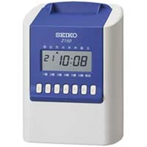 SEIKO(セイコー) タイムレコーダー ホワイト/ブルー Z150 - 拡大画像