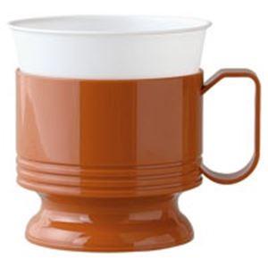 (業務用10セット)日本デキシーインサートカップホルダー茶5個