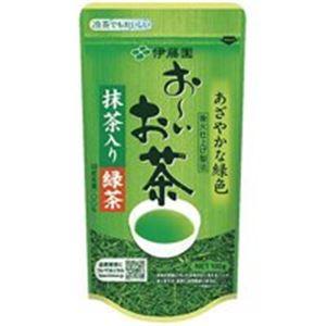 (業務用90セット)伊藤園 おーいお茶 抹茶入り緑茶 100g/袋  - 拡大画像