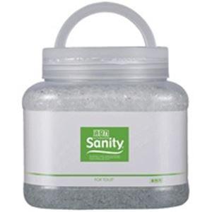 (業務用3セット)エステー サニティー 消臭剤1.7kg トイレ森林の香 - 拡大画像
