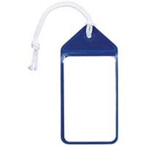 (業務用10セット)共栄プラスチック ネームタッグ旅行名札 C-80-5-B ブルー 5枚 - 拡大画像