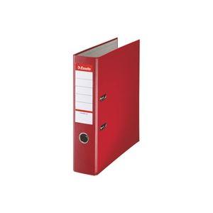 (業務用5セット)ESSELTE レバーアーチファイル/オフィス文房具 【A4S/赤】 48063 - 拡大画像