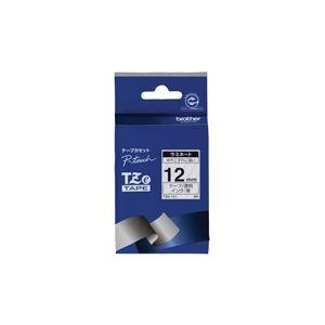 (業務用30セット) brother ブラザー工業 文字テープ/ラベルプリンター用テープ 【幅:12mm】 TZe-131 透明に黒文字