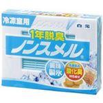 (業務用40セット)白元フォンテム 1年脱臭ノンスメル 冷凍室用NS-KYC