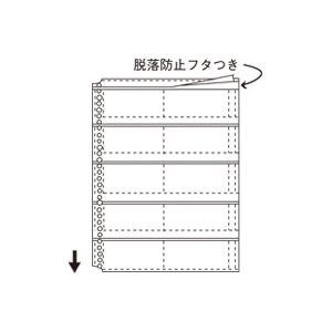 (業務用5セット)コレクト 名刺整理帳替ポケット CF-710 A4L 10枚