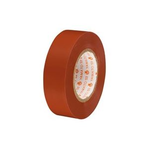 (業務用300セット) ヤマト ビニールテープ/粘着テープ 【19mm×10m/茶】 NO200-19 h01