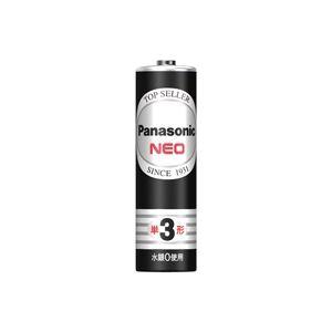 (業務用20セット) Panasonic パナソニック マンガン乾電池 ネオ黒 単3 R6PNB(40個)  - 拡大画像