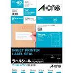 (業務用3セット)エーワン インクジェット用ラベル/宛名シール 【A4/24面 20枚】 28935