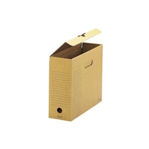 (業務用20セット)プラス ボックスファイル FL-081BF 蓋付 A4E