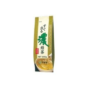 (業務用30セット)伊藤園 すぐ出る濃緑茶200g - 拡大画像