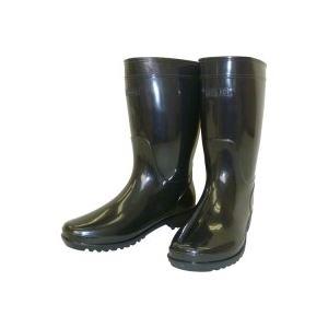 (業務用3セット)熱田資材 ブーツ軽半長靴WB-802 24.0 ブラック