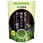 (業務用8セット)伊藤園 抹茶入りのおいしい緑茶 1kg 14526