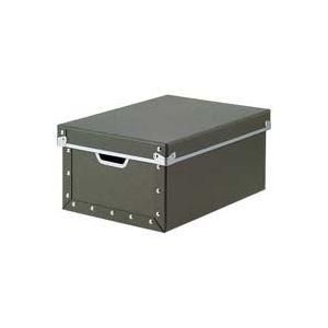 (業務用7セット)ジョインテックス 紙製収納ケース・フタ付深型A4 B775J ×7セット - 拡大画像