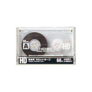 (業務用6セット) 磁気研究所 カセットテープ 60分×10本 HDAT60N10P2 ×6セット - 拡大画像