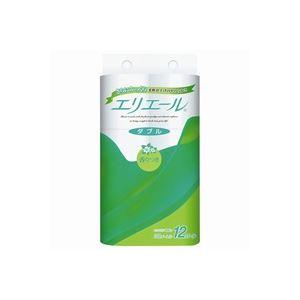 (まとめ買い)大王製紙 エリエール トイレットペーパー W 12巻 【×5セット】 - 拡大画像