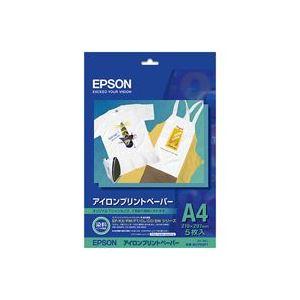 (業務用5セット)エプソン EPSON アイロンプリント紙 MJTRSP1 A4