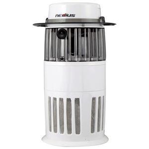 スイデン 吸引式捕虫器 ホワイト NMT-15A1JG-W - 拡大画像
