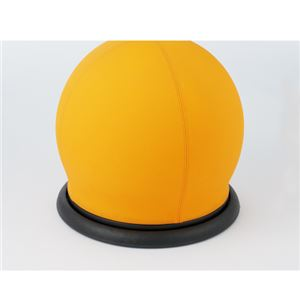 CMC スツール型バランスボール オレンジ BC-B OR 回転