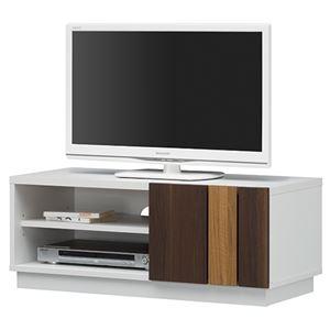 白井産業 テレビ台 ティレスタ ホワイト TL1-3590SDWH