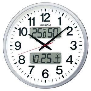 セイコー 電波掛時計 ホワイト KX237S