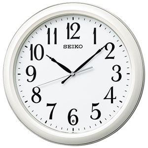 セイコー 電波掛時計 KX234W - 拡大画像