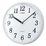 ノア精密 MAG 掛時計 プラスチッタ W-701WH-Z
