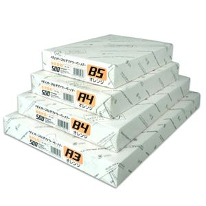 (まとめ)大王製紙 マルチカラー紙 CW-640C A3オレンジ500枚【×2セット】