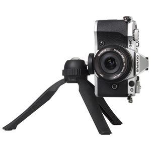 (まとめ)ハクバ写真産業 eポッドグリップミニ三脚キットH-EPGKT-BK【×10セット】