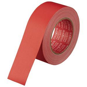 (まとめ)スリオンテック マットクロステープ 3345 赤【×10セット】 - 拡大画像