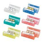 (まとめ)オープン工業 コインケース 9本6種類セット M-915【×5セット】
