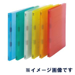 (まとめ)ビュートン フラットファイルPP A4SオレンジFF-A4S-COR【×30セット】 - 拡大画像