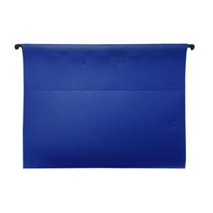 (まとめ)ESSELTE PPハンギングフォルダ 5枚 ブルー 626105【×5セット】