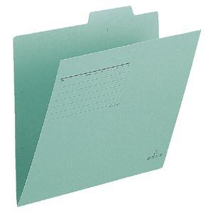 (まとめ)プラス 個別フォルダー FL-001IF A4E 緑 10枚【×10セット】