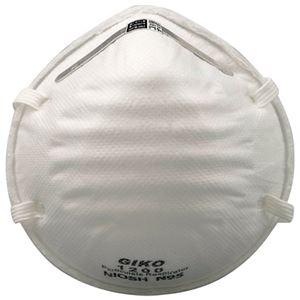 (まとめ)ミドリ安全 使い捨て防じんマスク GIKO1200【×5セット】