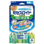(まとめ)白元アース ミセスロイドクローゼット用 無香 3個入【×5セット】