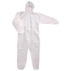 (まとめ)川西工業 不織布つなぎ服防じんタイプ#7017 3Lサイズ【×50セット】 - 拡大画像