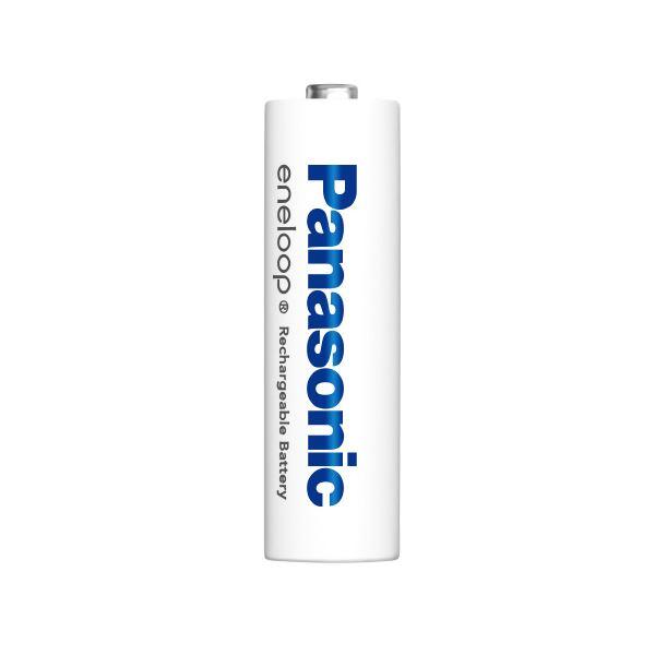 Panasonic エネループ単4形充電池4本付充電器セット