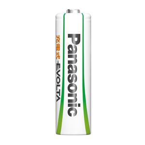 (まとめ)Panasonic エボルタ充電式電池 単4 4本 BK-4MLE/4BC【×10セット】 - 拡大画像