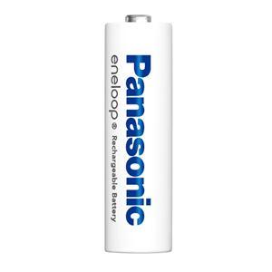 (まとめ)Panasonic エネループ充電式電池単4 2本 BK-4MCC/2C【×5セット】 - 拡大画像