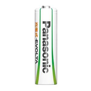 (まとめ)Panasonic エボルタ充電式電池 単4 2本 BK-4MLE/2BC【×30セット】 - 拡大画像