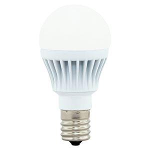 (まとめ)アイリスオーヤマ LED電球60W E17 広配光 電球色 4個セット【×5セット】 - 拡大画像