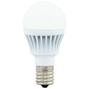 (まとめ)アイリスオーヤマ LED電球40W E17 広配光 電球色 4個セット【×5セット】