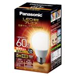 (まとめ)Panasonic LED電球60形E26 全方向 電球 LDA7LGZ60ESW2【×5セット】