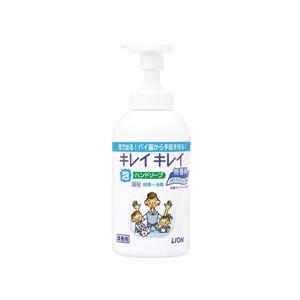 (まとめ)ライオン キレイキレイ泡ハンドソープPRO無香料550mL【×10セット】