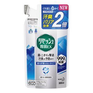 (まとめ)花王 リセッシュ除菌EX香り残らない詰替320ml【×10セット】