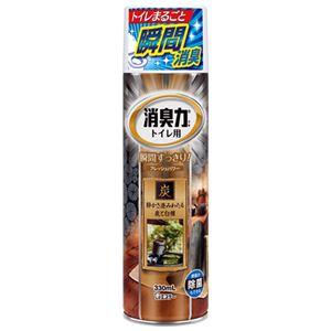 (まとめ)エステー トイレの消臭力スプレー炭と白檀の香り 6本【×2セット】