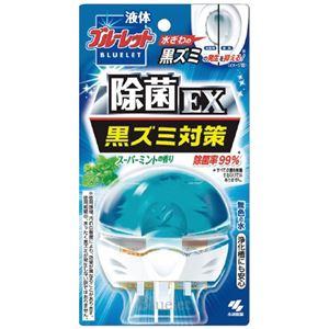 (まとめ)小林製薬 液体ブルーレット除菌EXスーパーミント70mL【×10セット】
