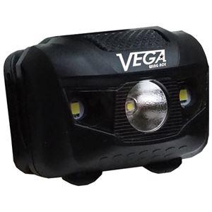 (まとめ)WING ACE 薄型ヘッドライト ベガ HLV-3W【×5セット】 - 拡大画像