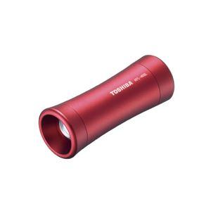 (まとめ)東芝 LEDランタン付ライトKFL-403L ワインレッド【×30セット】 - 拡大画像