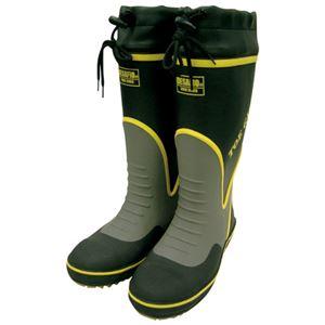 (まとめ)ミドリ安全 鋼製先芯入り安全長靴 MPB-7700 Lサイズ【×5セット】 - 拡大画像